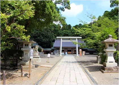 ศาลเจ้าโทคิวะ (Tokiwa Jinja Shrine)