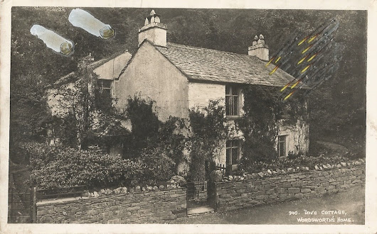 Dove Cottage under fire from flaming arrows