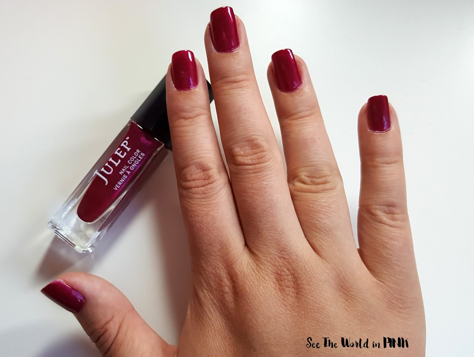 "Manicure Monday - Julep ""Neha - Bombshell"" Polish"