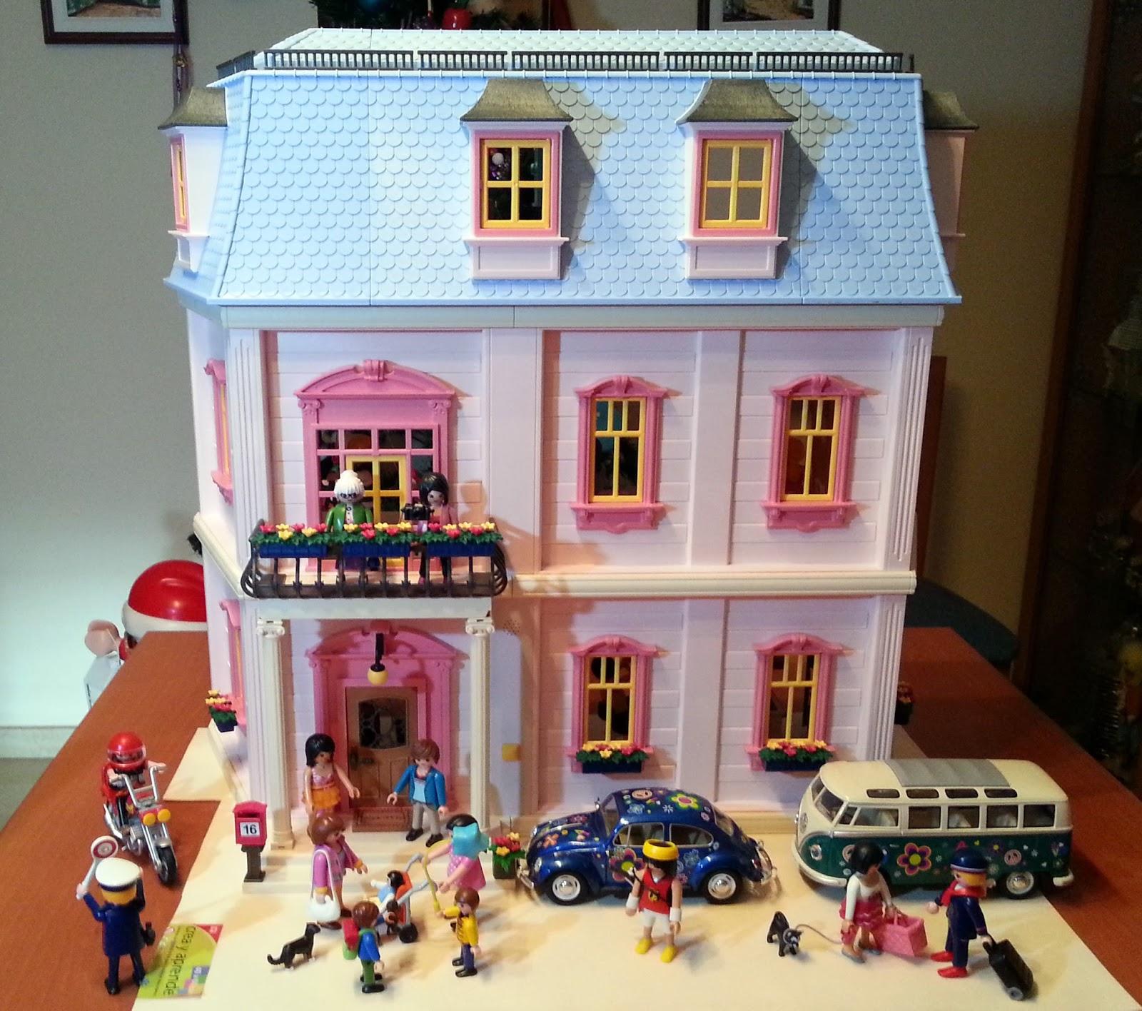 Mis mu ecas mi casita rom ntica de mu ecas playmobil for La casa de playmobil
