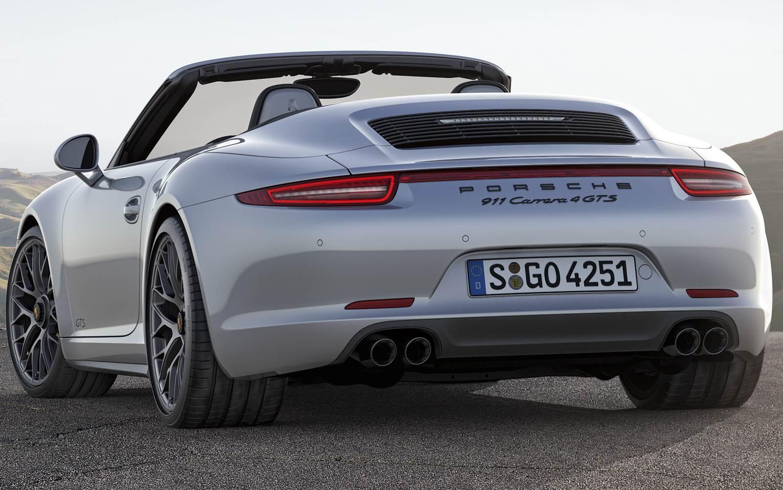 fc50841f34d29 Porsche 911 GTS 2015  preço parte de R  361 mil, na Europa   CAR.BLOG.BR