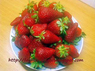 Σιρόπι φράουλας - από «Τα φαγητά της γιαγιάς»