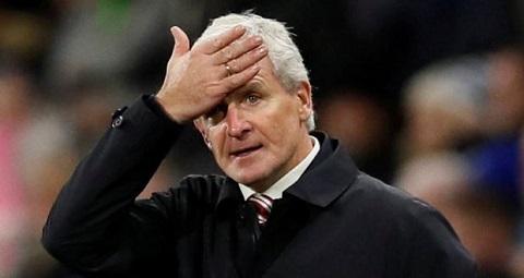 HLV Mark Hughes của Stoke City
