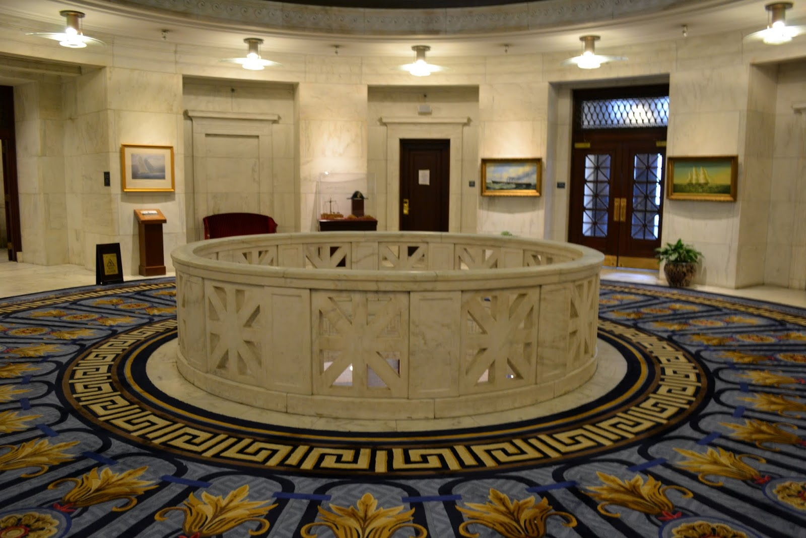 Cмотровая площадка в отеле Марриотт, Бостон, Массачусетс (Marriott Custom House observation deck, Boston, MA)