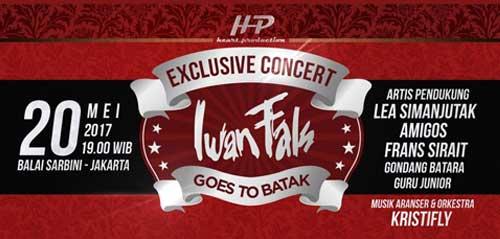Konser Eksklusif Iwan Fals Goes To Batak Mei 2017