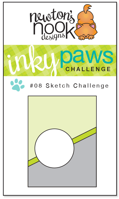 Inky paws Challenge #8 - Sketch Challenge - Newton's Nook Designs