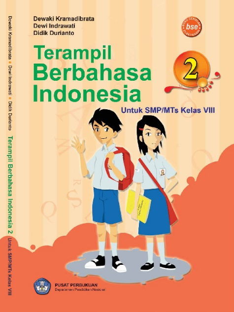 Download Buku Siswa KTSP SMP dan MTs Kelas 8 Terampil Bahasa Indonesia 2