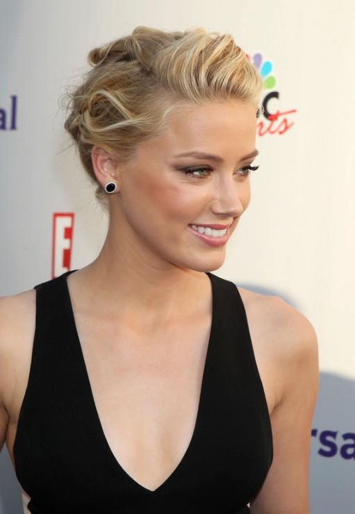 Amber Heard Hairstyle 2017