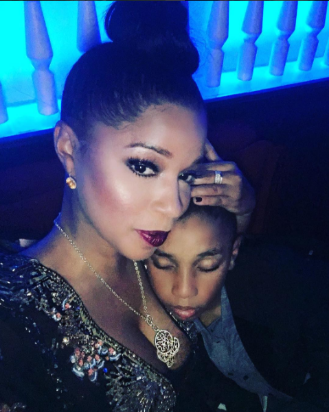 Swizz Beatz ex-wife shares photo of their 10 year old son laying on her butt - EOnlineGH.Com