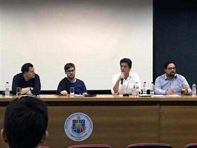 Pesquisador da CPRM participa da Semana de Estudos Geológicos em São Paulo