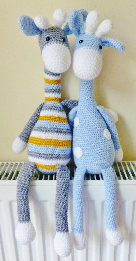 Corazón de Crochet 3D | Jirafa tejida al crochet, Patrón de ganchillo | 1092x570