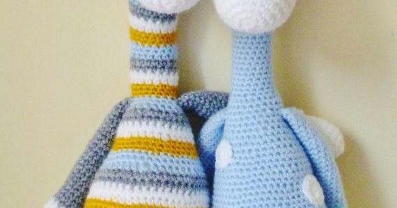 Jirafa amigurumi crochet con patrón escrito - YouTube | Jirafa ... | 299x570