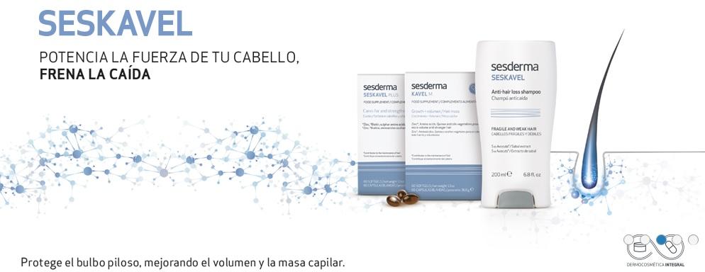 """""""Seskavel"""" de SESDERMA – para fortalecer el cabello 393631a79af1"""