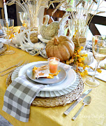 Harvest Themed Thanksgiving Table