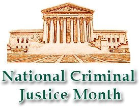 National Criminal Justice Month