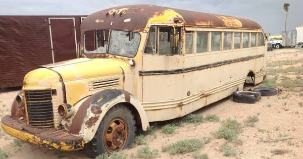 Craigslist Li Cars >> Restoration Project Cars: 1941 International School Bus ...