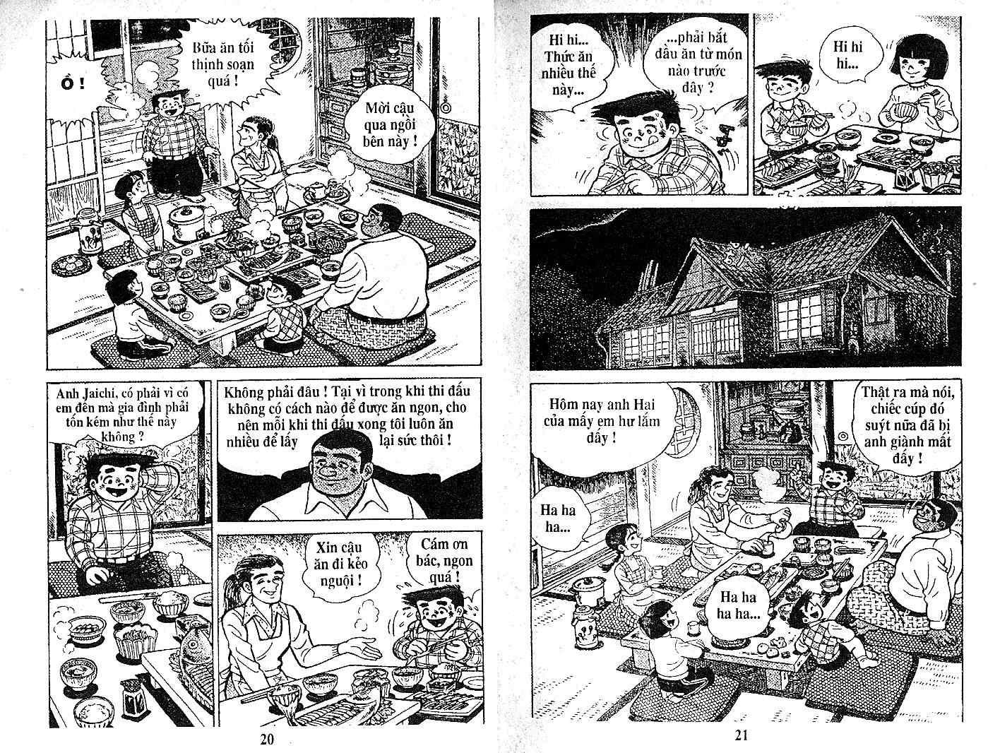 Ashita Tenki ni Naare chapter 21 trang 9