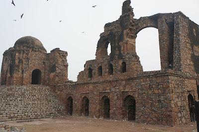 Ruins at Firoz Shah Kotla