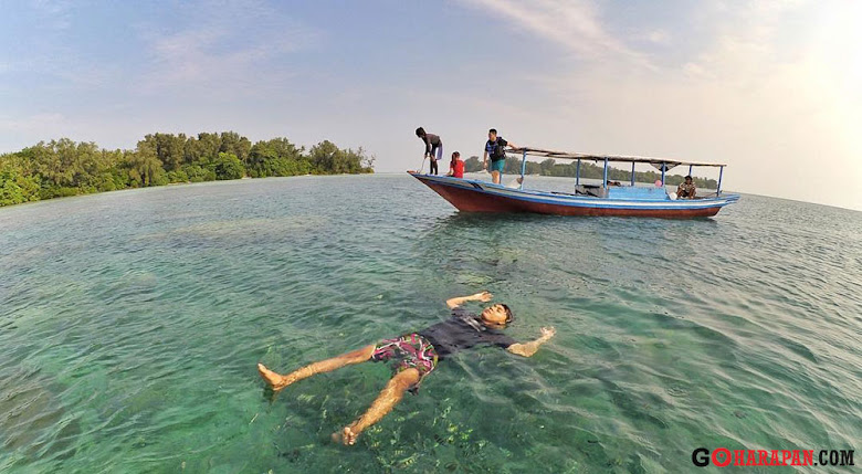 wisata pulau harapan hanya sehari