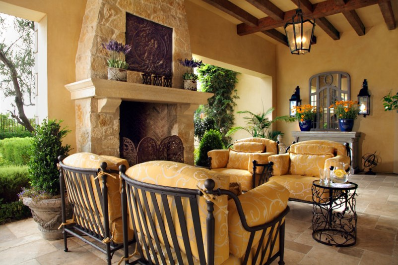 Tuscan Style Home Interior Design And Decorating Elements, Photos