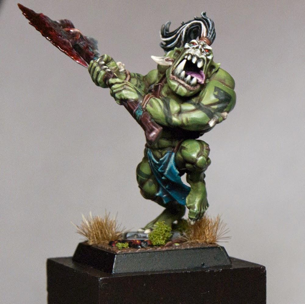 Mengel Miniatures: GALLERY: Savage Orc Big Boss