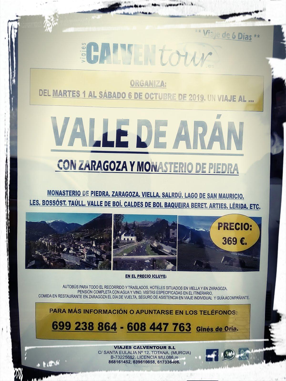 Viaje al Valle de Arán