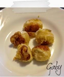 Gnocco, crocchetta, o polpetta di patate filante