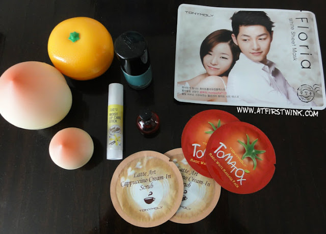 Tony Moly purchases