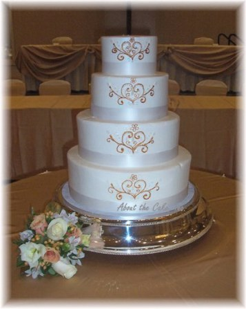 buttercream wedding cakes icing wedding cake with butter cream. Black Bedroom Furniture Sets. Home Design Ideas
