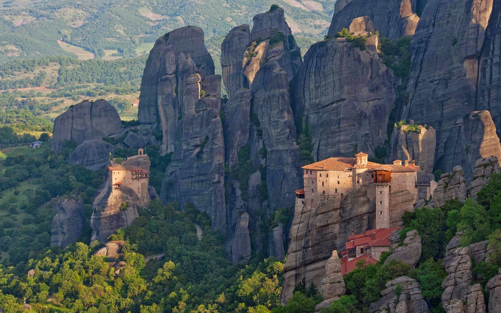 монастыри Греции