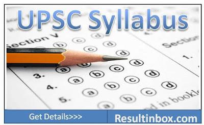 Upsc Cds Exam Syllabus Pdf