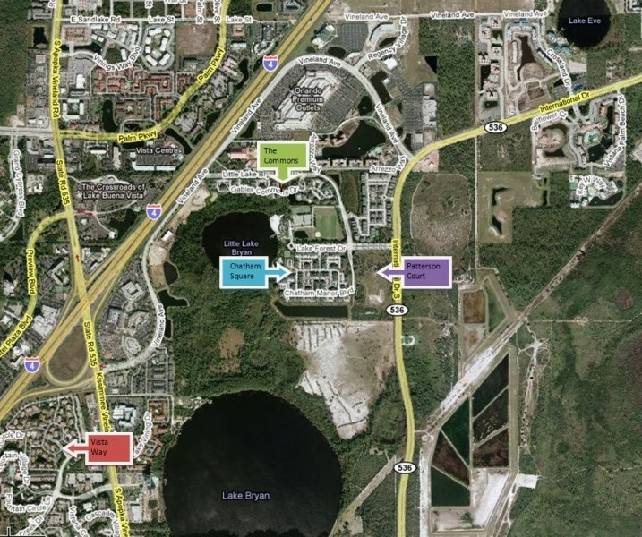 Map Apartments: Disney College Program Housing Bedroom/Bathroom & Rent