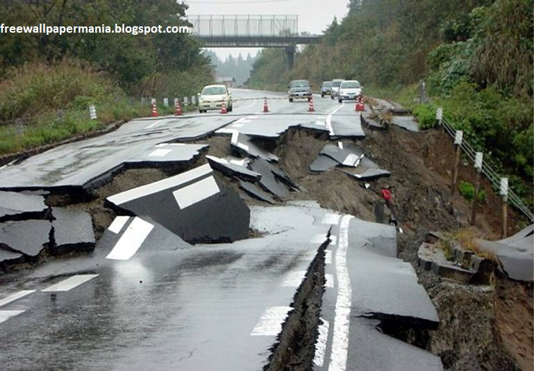 Earth Quake Made A Big Financial Loss To Roads Images Earth Quake Made A Big Financial Loss To Roads Pictures Earth Quake Made A Big Financial Loss To