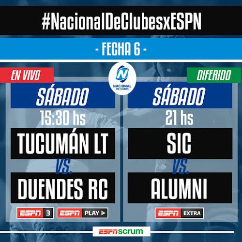 Tucumán Lawn Tennis - Duendes (en vivo, Nacional de Clubes, ESPN 3)