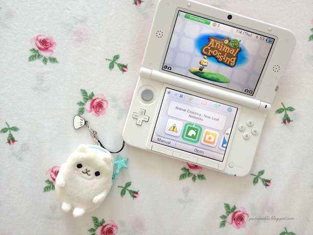 Cantliveitdown: 3DS XL + Animal Crossing New Leaf Review