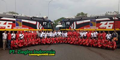 Lowongan Kerja PT. Ziegler Indonesia Cikarang Januari 2019