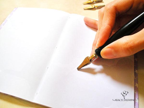 como usar la pluma caligrafica primeros pasos