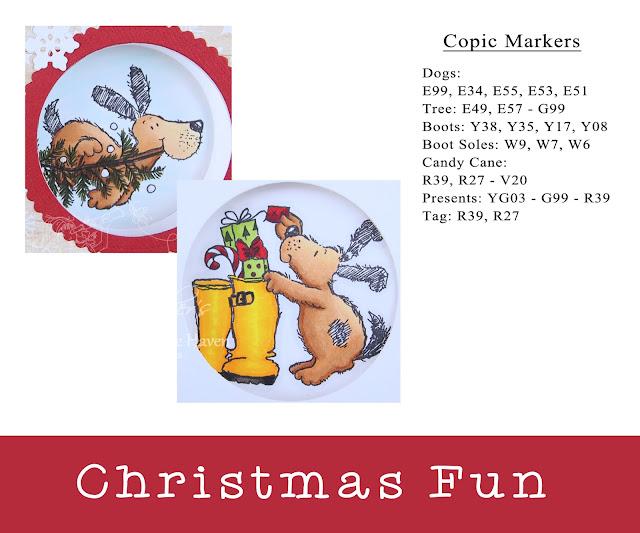Heather's Hobbie Haven - Christmas Fun Peek-A-Boo Card Kit