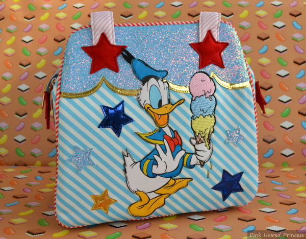 irregular choice disney donald duck bag front