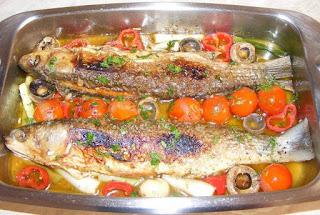 peste, chefal, retete de peste, preparate din peste, retete culinare, peste cu legume,