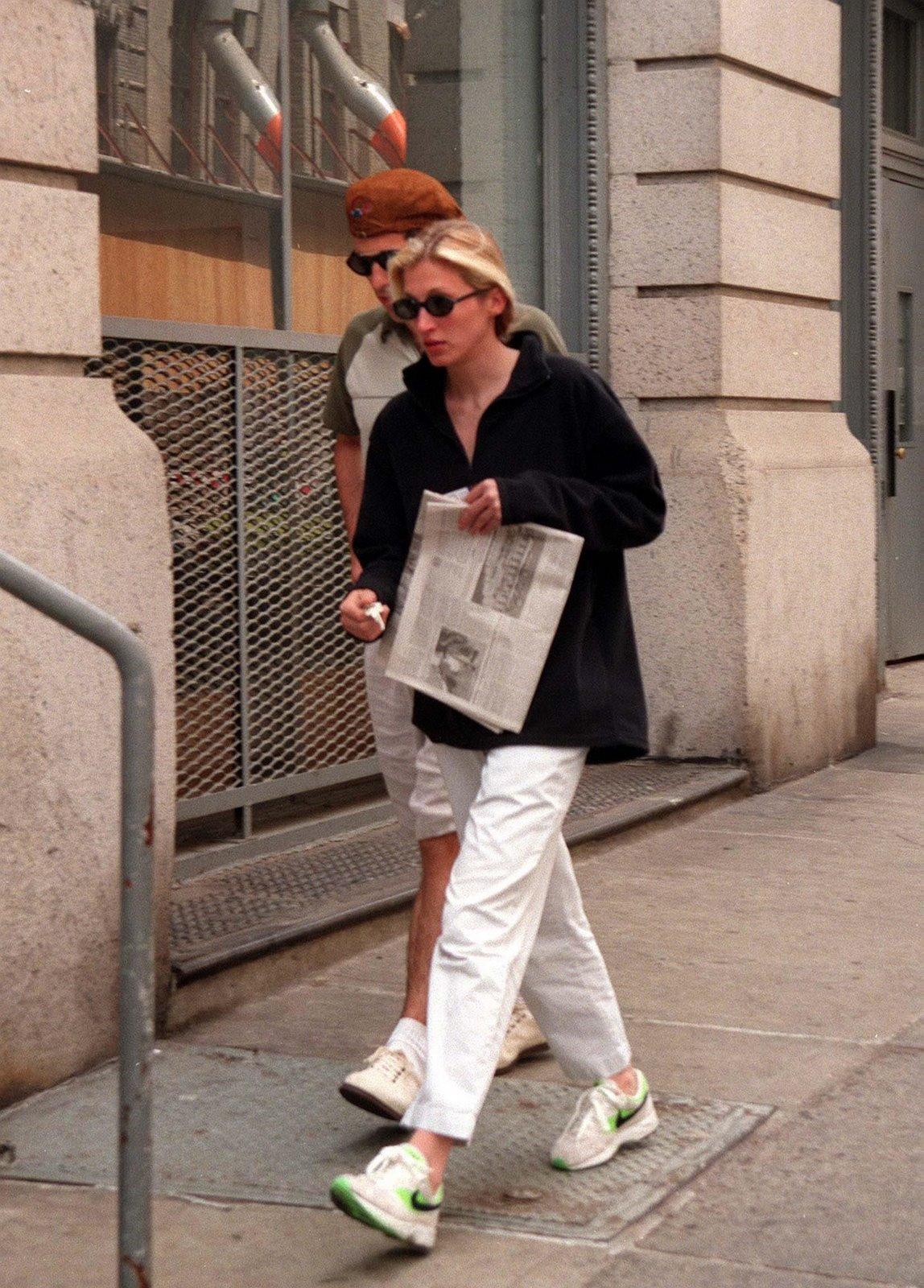 Carolyn Bessette Wedding Shoes