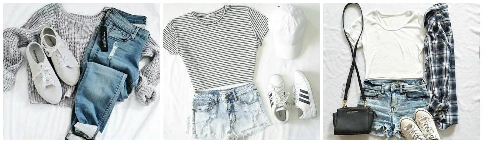 Look minimalista, look tumblr
