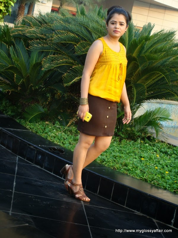 Sunrise Yellow outfit post