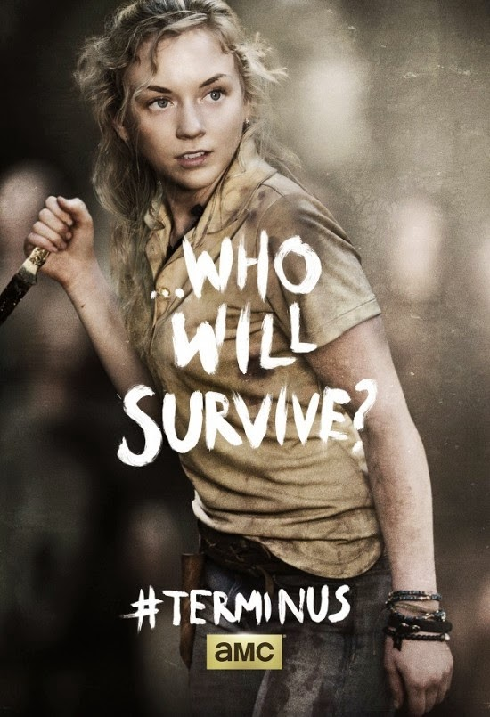 "Poster de Beth para el final de la cuarta temporada  ""The Walking Dead"""