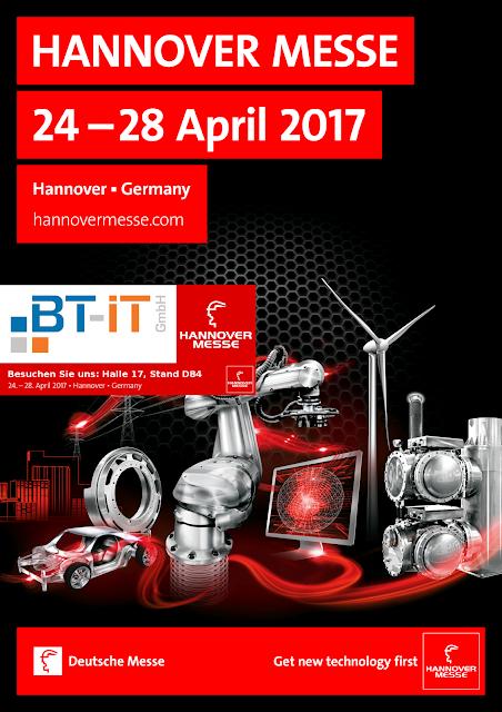 BT-IT auf der Hannover Messe - ERP - PPS für Industrie 4.0