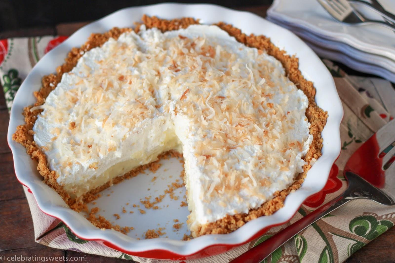 Coconut Cream Pie Recipe-1651