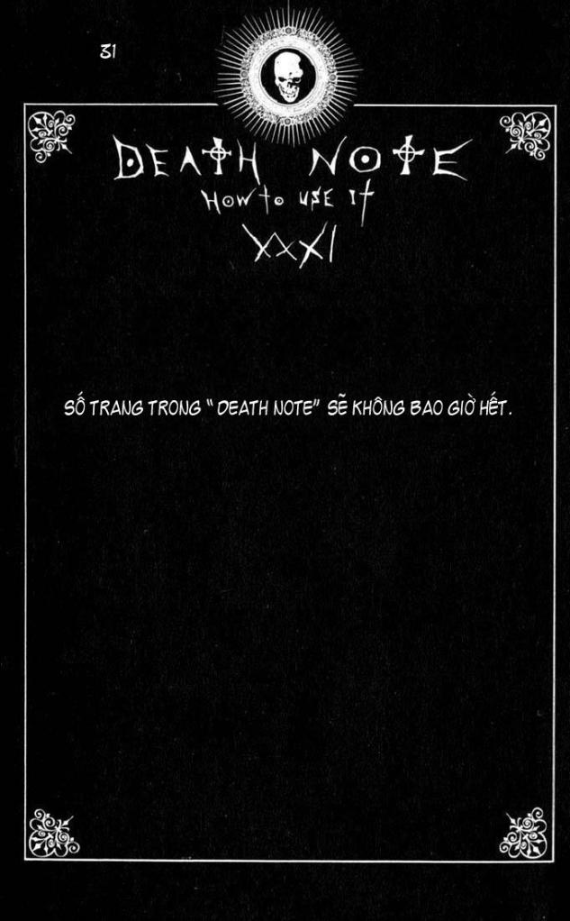 Death Note chapter 110 - how to use trang 34
