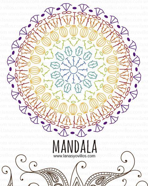 Mandalas Y Atrapasueños De Crochet Terapia Ganchillera
