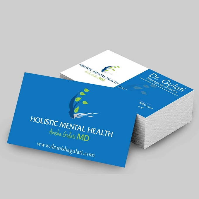 Business card with mockup Free psd