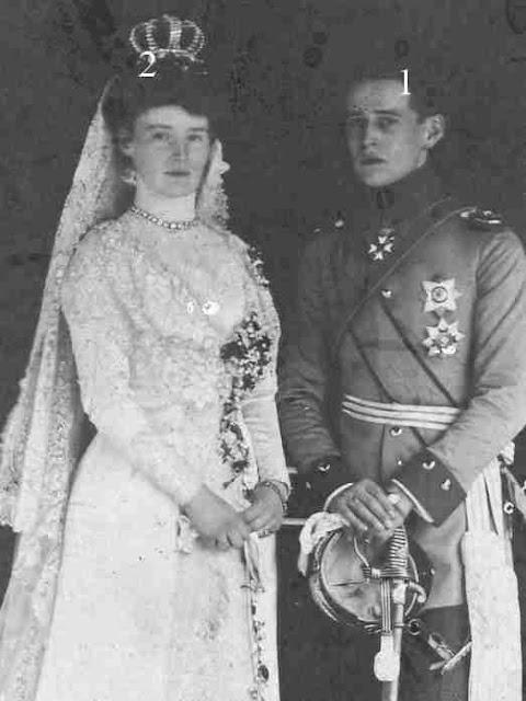 Prinzessin Maria von Sachsen-Altenburg-Prinz Heinrich XXXV. Reuß j. L.
